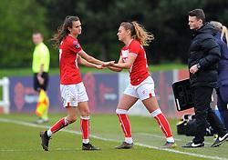 Rosella Ayane of Bristol City is substituted for Ella Rutherford of Bristol City- Mandatory by-line: Nizaam Jones/JMP- 31/03/2019 - FOOTBALL - Stoke Gifford Stadium - Bristol, England - Bristol City Women v Reading Women - FA Women's Super League 1