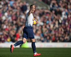Harry Kane of Tottenham Hotspur celebrates after scoring his sides first goal - Mandatory by-line: Jack Phillips/JMP - 23/02/2019 - FOOTBALL - Turf Moor - Burnley, England - Burnley v Tottenham Hotspur - English Premier League