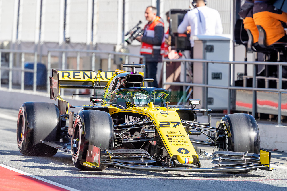 February 18, 2019 - Montmelo, Catalonia, Spain - Carlos Sainz of McLaren seen in action during the afternoon session of the first day of F1 Test Days in Montmelo circuit. (Credit Image: © Javier MartíNez De La Puente/SOPA Images via ZUMA Wire)