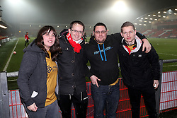 Bristol City fans  - Mandatory by-line: Matt McNulty/JMP - 17/01/2017 - FOOTBALL - Highbury Stadium - Fleetwood,  - Fleetwood Town v Bristol City - Emirates FA Cup Third Round Replay