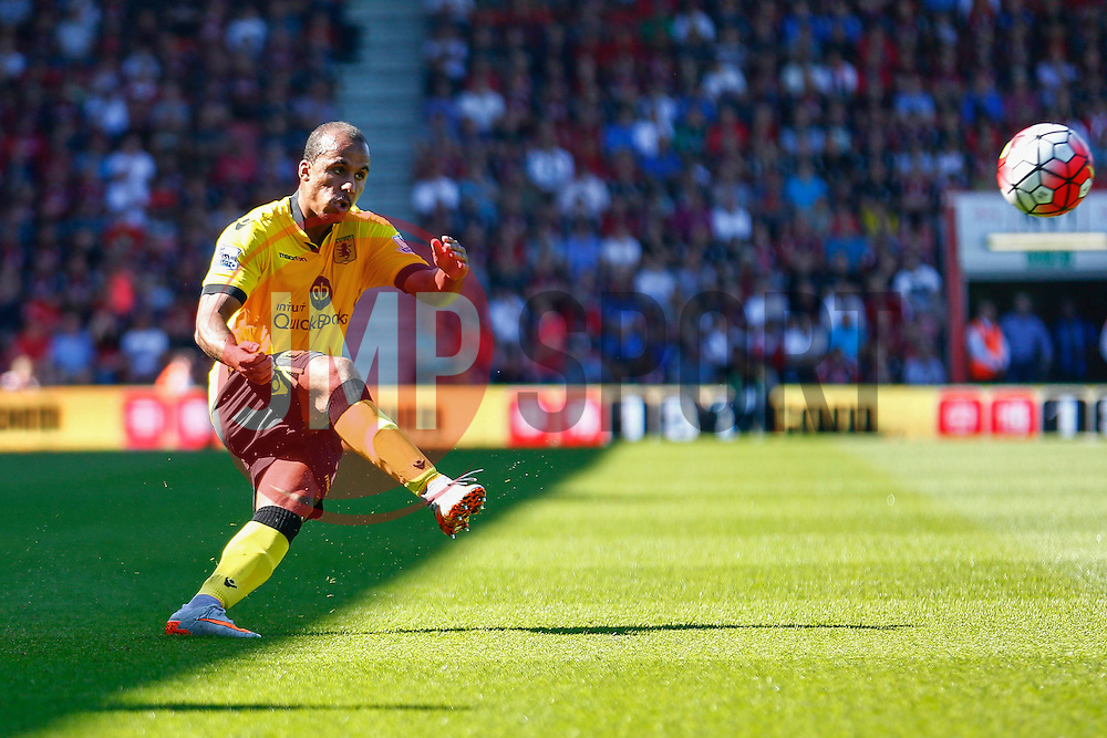Gabriel Agbonlahor of Aston Villa - Mandatory by-line: Jason Brown/JMP - Mobile 07966 386802 08/08/2015 - FOOTBALL - Bournemouth, Vitality Stadium - AFC Bournemouth v Aston Villa - Barclays Premier League - Season opener