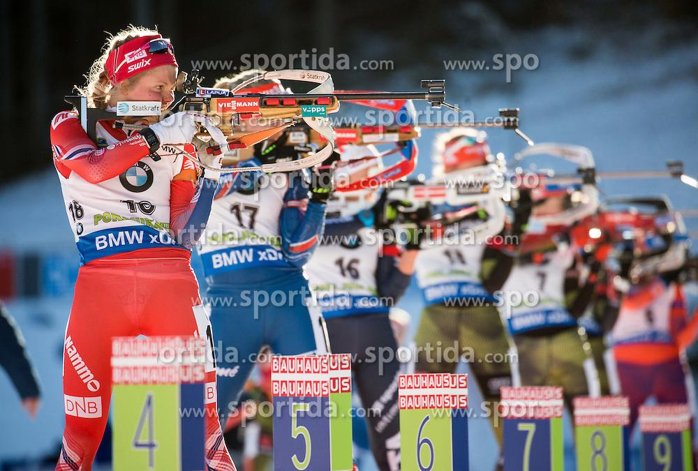 Hilde Fenne (NOR)  during Women 10 km Pursuit at day 3 of IBU Biathlon World Cup 2015/16 Pokljuka, on December 19, 2015 in Rudno polje, Pokljuka, Slovenia. Photo by Vid Ponikvar / Sportida