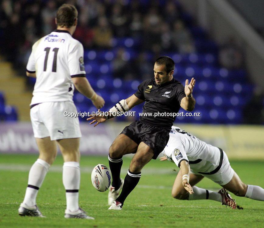 New Zealand All Golds v Northern Union. Centenary International rugby league match. Halliwell Jones Stadium, Warrington, England. Saturday 20 October 2007. Photo: Vicky Mathers/PHOTOSPORT<br /> Stacey Jones