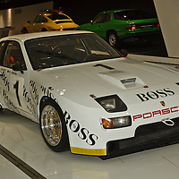 1981 Porsche 944 GTR 'Le Mans' 2478cc at the Porsche Museum in Stuttgart in January 2014