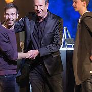 NLD/Aalsmeer/20151120 - 1e show Mindmasters Live 2015, mentalist met Jochem van Gelderen en zijn kinderen