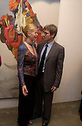 Lady Helen Taylor and Timothy Taylor, Timothy Taylor new gallery opening, Dering  St. 20 May 2003. © Copyright Photograph by Dafydd Jones 66 Stockwell Park Rd. London SW9 0DA Tel 020 7733 0108 www.dafjones.com