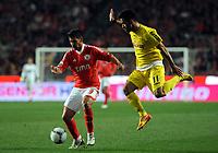 20120212: LISBON, PORTUGAL – Liga Zon Sagres 2011/2012: SL Benfica vs Nacional. In Picture: Nolito<br />PHOTO: Alvaro Isidoro/CITYFILES