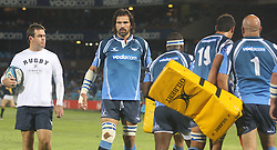 Bulls players.05 March 2011, Blue Bulls v Highlanders, Vodacom Super 15, Loftus Stadium, Pretoria,South Africa,.photo by Abbey Sebetha, Eagency