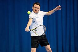 Iztok Bricelj, CEO of Gospodarsko razstavisce at event for sponsors of Tenis Slovenija when they are playing tennis with Slovenian men Davis Cup team, on January 25, 2018 in Tennis Centre Breskvar, Ljubljana, Slovenia.  Photo by Vid Ponikvar / Sportida