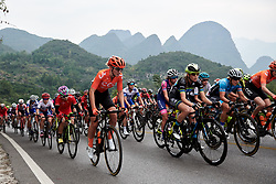 Pauliena Rooijakkers (NED) at GREE Tour of Guangxi Women's WorldTour 2019 a 145.8 km road race in Guilin, China on October 22, 2019. Photo by Sean Robinson/velofocus.com