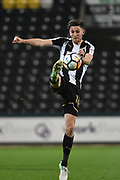 Notts County Shaun Brisley (16) during the The FA Cup match between Notts County and Bristol Rovers at Meadow Lane, Nottingham, England on 3 November 2017. Photo by Jon Hobley.