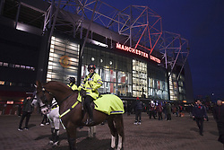 February 12, 2019 - Manchester, France - ILLUSTRATION - SUPPORTERS - PARVIS (Credit Image: © Panoramic via ZUMA Press)
