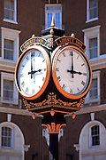 Clock at The Westin Poinsett - Downtown Greenville, SC