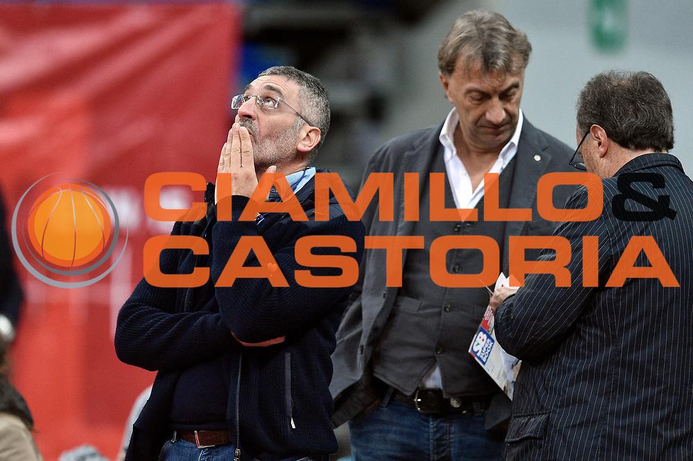 DESCRIZIONE : Pesaro Lega A 2015-16 Consultinvest Pesaro - Obiettivo Lavoro Bologna<br /> GIOCATORE : Pietro Basciano<br /> CATEGORIA : vip<br /> SQUADRA : Obiettivo Lavoro Bologna<br /> EVENTO : Campionato Lega A 2015-2016<br /> GARA : Consultinvest Pesaro - Obiettivo Lavoro Bologna<br /> DATA : 25/10/2015<br /> SPORT : Pallacanestro <br /> AUTORE : Agenzia Ciamillo-Castoria/GiulioCiamillo<br /> Galleria : Lega Basket A 2015-2016 <br /> Fotonotizia : Pesaro Lega A 2015-16 Consultinvest Pesaro - Obiettivo Lavoro Bologna<br /> Predefinita :