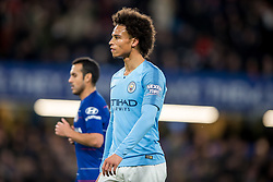 December 8, 2018 - London, Greater London, England - Leroy Sané of Manchester City during the Premier League match between Chelsea and Manchester City at Stamford Bridge, London, England on 8 December 2018. (Credit Image: © AFP7 via ZUMA Wire)