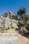 Turkey, Antalya, Koprulu River Canyon national park rock formations