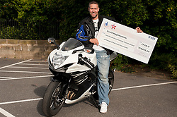 Lottery Winner David Higginbottom who won £174,665 ..7th September2011 Image © Paul David Drabble