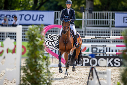 KEENAN Lillie (USA), CHACCOLETTE<br /> Münster - Turnier der Sieger 2019<br /> Preis des EINRICHTUNGSHAUS OSTERMANN, WITTEN<br /> CSI4* - Int. Jumping competition  (1.45 m) - <br /> 1. Qualifikation Mittlere Tour<br /> Medium Tour<br /> 02. August 2019<br /> © www.sportfotos-lafrentz.de/Stefan Lafrentz