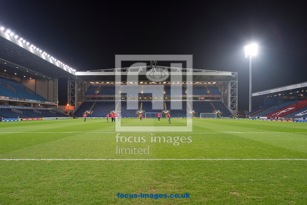 A general view of the stadium before the Sky Bet Championship match at Ewood Park, Blackburn<br /> Picture by Russell Hart/Focus Images Ltd 07791 688 420<br /> 14/12/2015