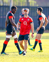 Maro Itoje (Saracens) - Mandatory by-line: Steve Haag/JMP - 13/06/2018 - RUGBY - Kings Park Stadium - Durban, South Africa - England Rugby Training and Press Conference, South Africa Tour