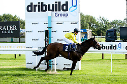 "Cotton Club ridden by Marco Ghiani trained by George Boughey wins the """"Hands and Heels"""" Apprentice Handicap - Mandatory by-line: Robbie Stephenson/JMP - 27/08/2019 - PR - Bath Racecourse - Bath, England - Race Meeting at Bath Racecourse"