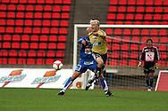 19.07.2006, Ratina, Tampere, Finland.<br />Veikkausliiga 2006 - Finnish League 2006<br />Tampere United - HJK Helsinki<br />Iiro Aalto (HJK) v Ville Lehtinen (TamU)<br />©Juha Tamminen<br /><br /><br />..ARK:k
