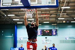 Lewis Champion of Bristol Flyers - Rogan/JMP - 19/04/2019 - BASKETBALL - University of Worcester Arena - Worcester, England. - Worcester Wolves v Bristol Flyers - British Basketball League.