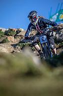 Anna Newkirk (USA) at the 2018 UCI MTB World Championships - Lenzerheide, Switzerland