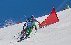 Flisar Filip and Kline Bostjan from Slovenia during Dila Challenge 2019 between Kline Bostjan and Flisar Filip , on March 30, 2019, on Krvavec, Slovenia. Photo by Urban Meglic / Sportida