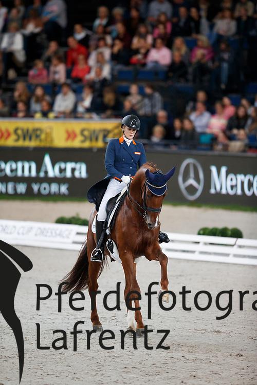 Witte-Vrees, Madeleine (NED) Cennin<br /> Stuttgart - German Masters 2016<br /> &copy; www.sportfotos-lafrentz.de