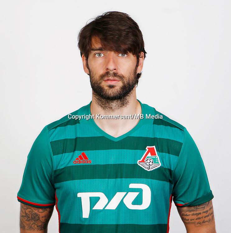 Portraits, Lokomotiv Moscow, August 2016, Russian Premier League