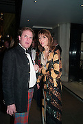 LORD DALMENY;MRS. ROBIE BUXTON, Game & Wildlife Conservation Trust's Ball. Savoy Hotel. London. 6 November 2013.