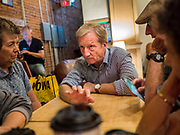 21 SEPTEMBER 2019 - DES MOINES, IOWA: Steyer, a California businessman, is running to be the Democratic nominee for President in the 2020 election. He is also pushing the Democrats in Congress to impeach President Trump. Iowa traditionally hosts the first event of the presidential selection cycle. The Iowa Caucuses are on February 3, 2020.             PHOTO BY JACK KURTZ