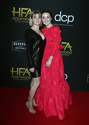 2019 Hollywood Film Awards. 03 Nov 2019 Pictured: Kaitlyn Dever, Mady Dever. Photo credit: Jen Lowery / MEGA TheMegaAgency.com +1 888 505 6342
