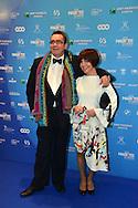 &copy;www.agencepeps.be/ F.Andrieu - Belgique -Bruxelles - 140201 - Les Magrittes du cin&eacute;ma ont r&eacute;compens&eacute; comme chaque ann&eacute;e les professionnels du cin&eacute;ma belge. Belgium cin&eacute; awards the &quot;Magritte of the cinema&quot;<br /> Pics: Renaud Rutten et son &eacute;pouse