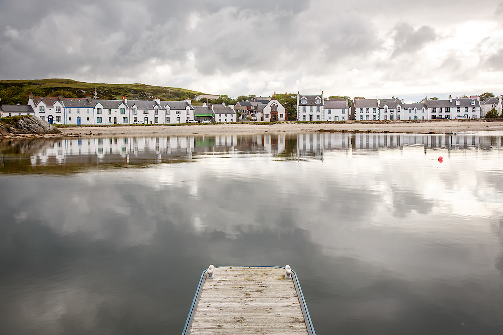 The town of Port Ellen, Isle of Islay, Scotland, July 15, 2015. Gary He/DRAMBOX MEDIA LIBRARY