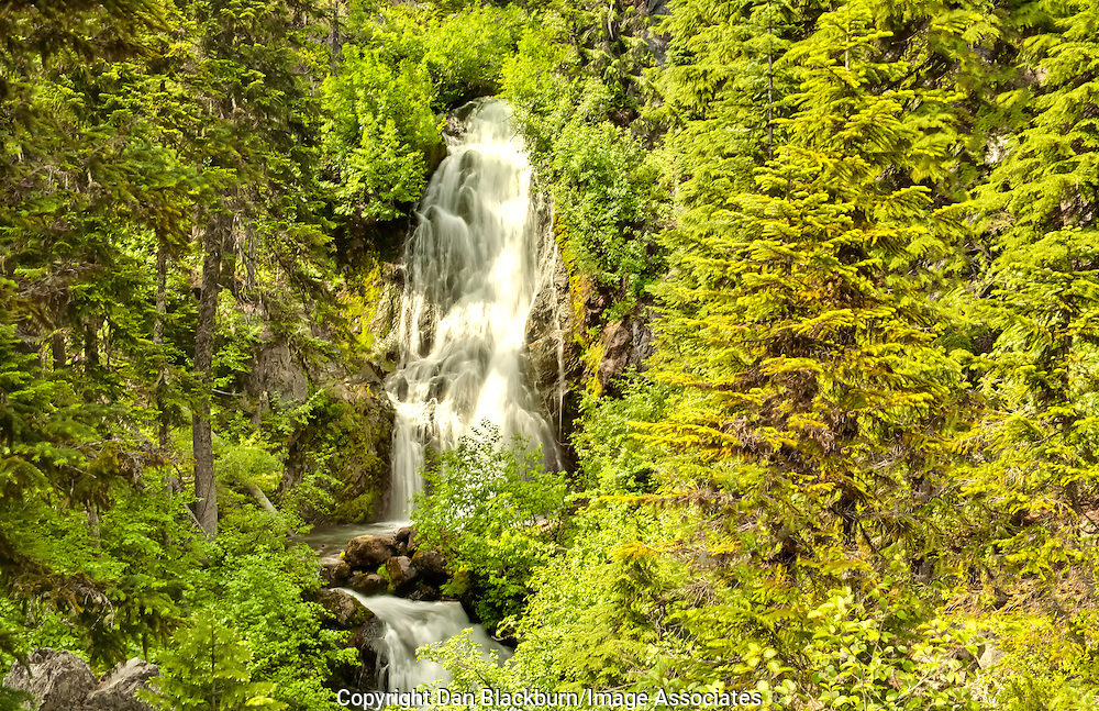Sahalie Falls in Full Flow in Oregon
