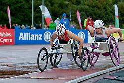 KURT Hamide, KINGHORN Samantha, 2014 IPC European Athletics Championships, Swansea, Wales, United Kingdom