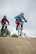 #100 (PAJON Mariana) COL during practice at Round 3 of the 2019 UCI BMX Supercross World Cup in Papendal, The Netherlands