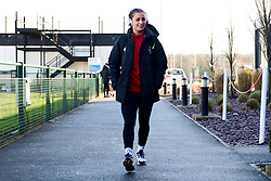 Megan Wynne of Bristol City Women arrives at Stoke Gifford Stadium prior to kick off - Mandatory by-line: Ryan Hiscott/JMP - 19/01/2020 - FOOTBALL - Stoke Gifford Stadium - Bristol, England - Bristol City Women v Liverpool Women - Barclays FA Women's Super League