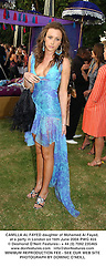 CAMILLA AL FAYED daughter of Mohamed Al Fayed, at a party in London on 16th June 2004.PWG 455