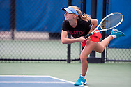 Greta Walser. Idaho High School State Tennis Championships on May 20, 2017 at Boise State University's Appleton Tennis Complex, Boise, Idaho. <br /> <br /> Boise's girls doubles team of Jennifer Wong and Greta Walser won a thriller over Borah's Cassidy Binder and Madeline Krausteam, 6-4, 3-6, 7-6 (10-8) to claim the 5A girls doubles title.
