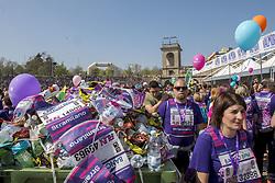 March 24, 2019 - Milano, Italia, Italia - Foto Carlo Cozzoli - LaPresse.24-03-19 Milano ( Italia ).Cronaca.StraMilano 2019 Arrivo Arena Civica (Credit Image: © Carlo Cozzoli/Lapresse via ZUMA Press)