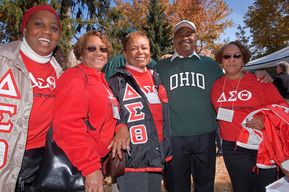17904Homecoming 2006 10/20/06: Tailgreat...Dianna Donaldson,Darlene Spencer'69,Ann Marie Ogle'66,Donna Coleman, Epsilon lotta Chapter of Delta Sigma Theta