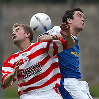 St Johnstone v Hamilton Accies..31.07.04  Bell's Cup<br />