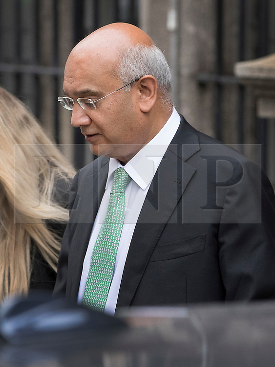 © Licensed to London News Pictures. 06/09/2016. London, UK. Keith Vaz MP is seen in Parliament after resigning as Chairman of the influential Home Affairs Select Committee . A Sunday newspaper has printed allegations that Mr Vaz met with male prostitutes at his flat. Photo credit: Peter Macdiarmid/LNP