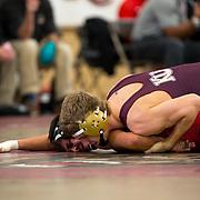 Kutztown University hosts a college wrestling dual tournament at Keystone Arena in Kutztown, Pennsylvania, Friday, January 20, 2017.