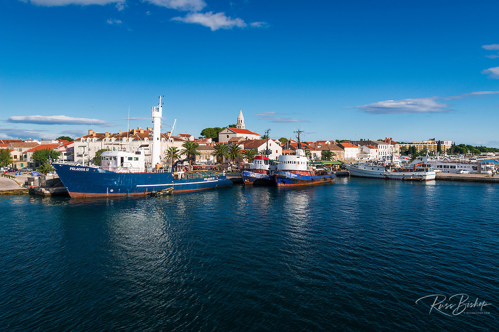 Port town of Biograd na Moru, Dalmatian Coast, Croatia
