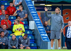 BLACKBURN, ENGLAND - Thursday, July 19, 2018: Liverpool's manager Jürgen Klopp during a preseason friendly match between Blackburn Rovers FC and Liverpool FC at Ewood Park. (Pic by David Rawcliffe/Propaganda)