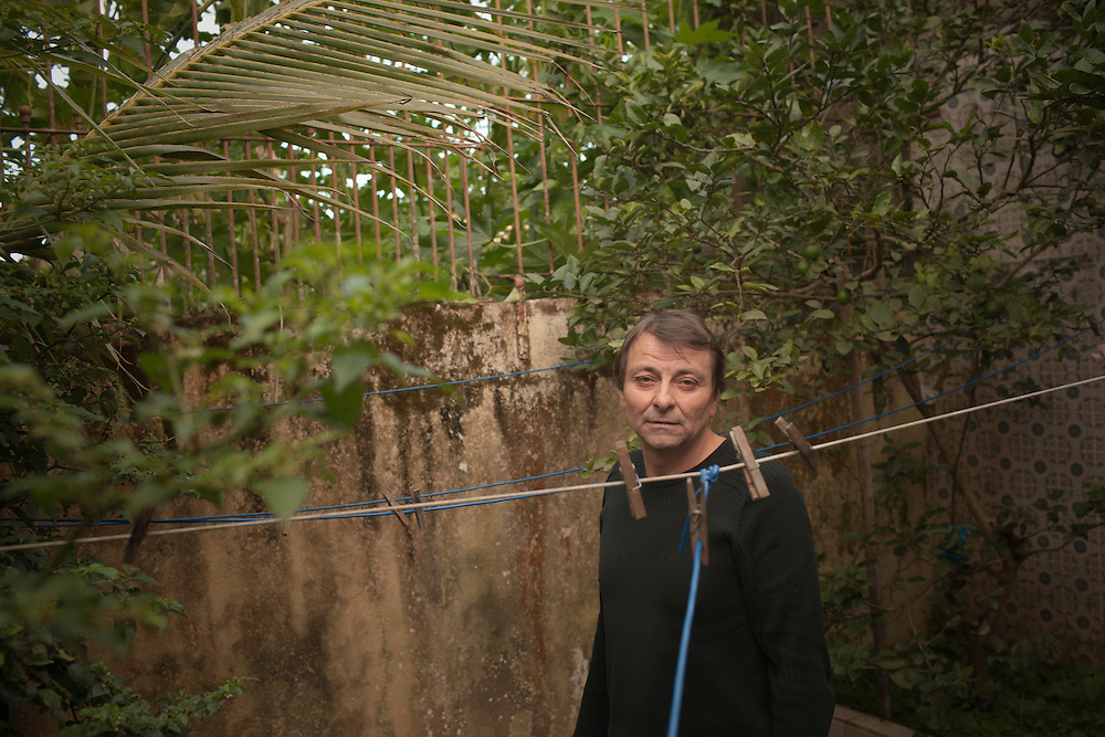 Cananeia, SP, Brazil, 31/08/2011, 16h45:  Cesare Battisti, an Italian revolutionary exiled in Brazil, shows his life in Cananeia, an island located in Brazil's sothwest.   (photo: Caio Guatelli)